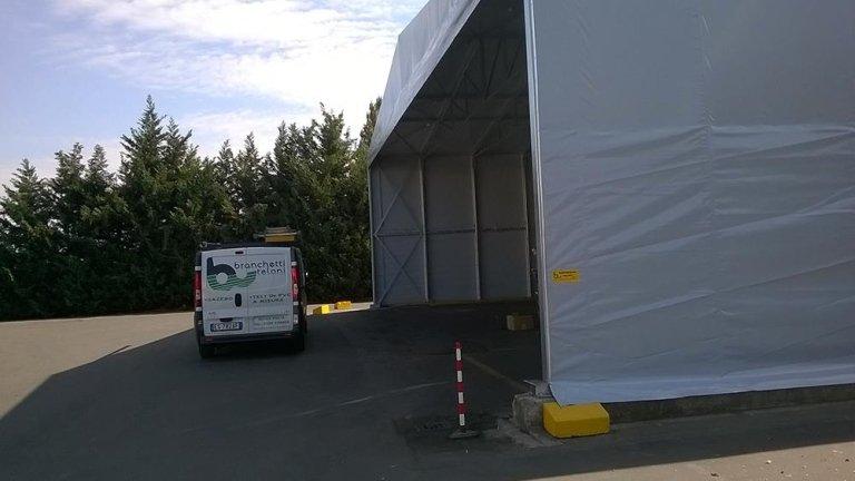 rivestimento capannone in pvc