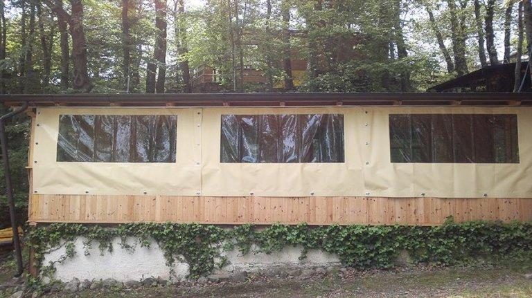 protezione veranda