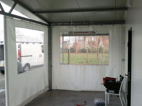 chiusure laterali finestrate