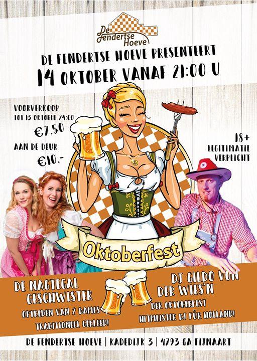 Bierfeest, oktoberfest, Duitse muziek, dj, tiroler feest