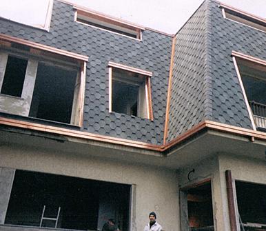 impermeabilizzazione di coperture edili