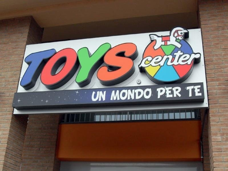 insegna franchising toys center