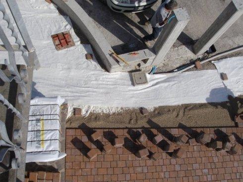 Realizzazione pavimentazioni esterni