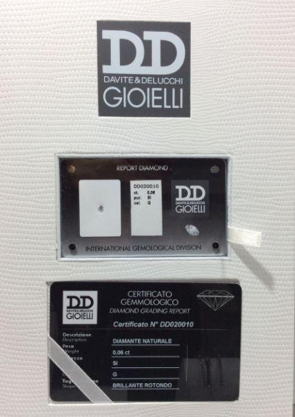 Certificato di qualità DD Gioielli