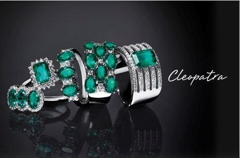 Anelli femminili della collezione Cleopatra