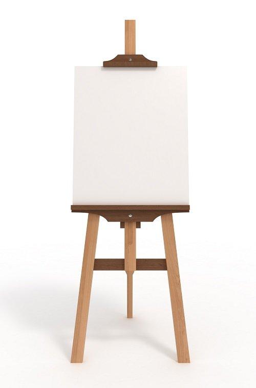 cavalletto per pittura