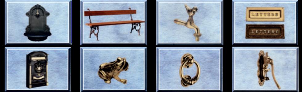 vasta gamma di articoli in bronzo e otton
