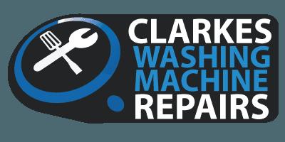 clarkes washing machine repairs business logo