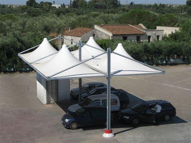copertura parcheggio