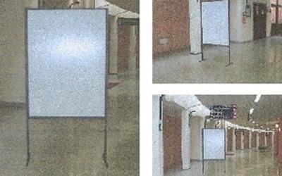 Porta poster per interno