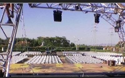 Noleggio palco per eventi
