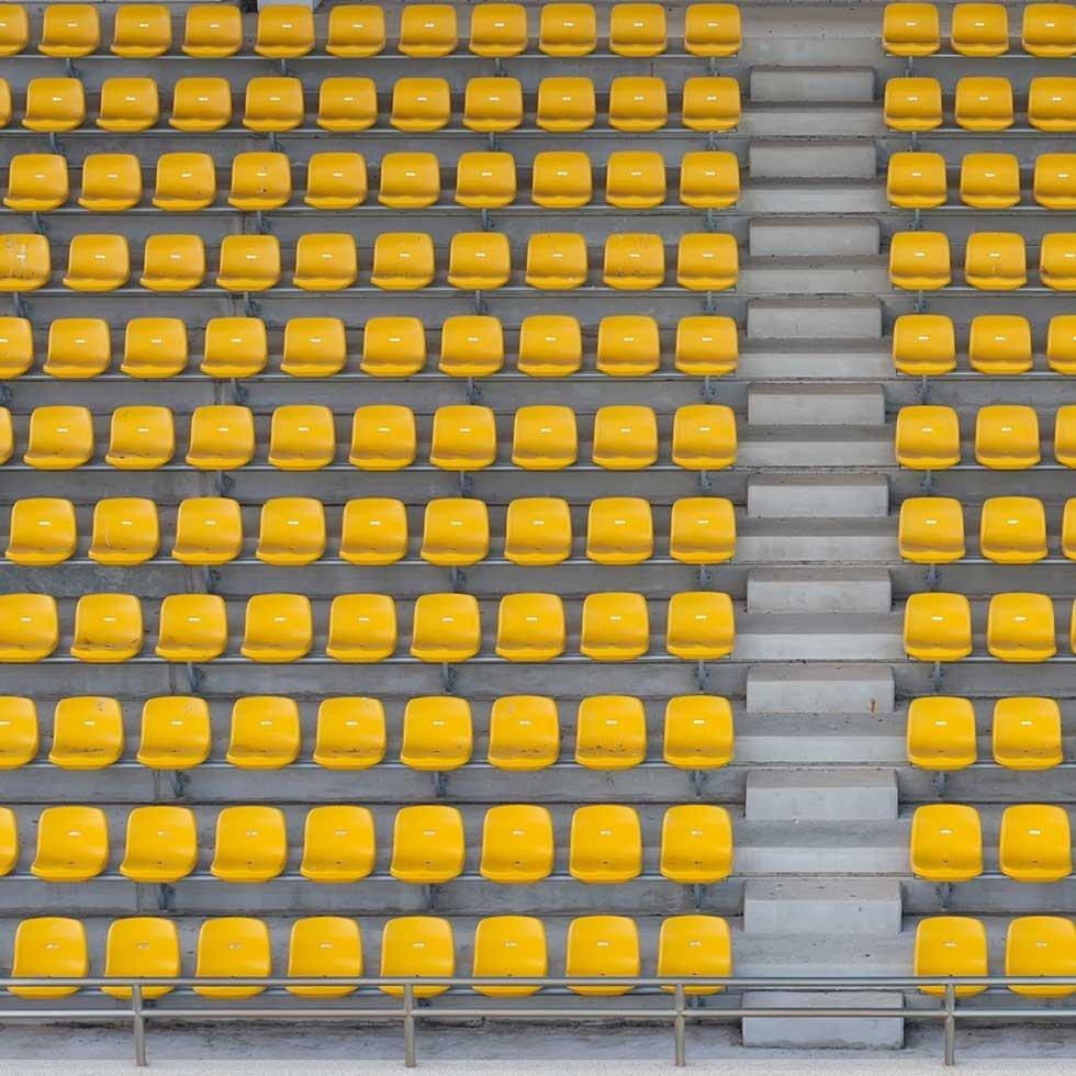 Noleggio tribune