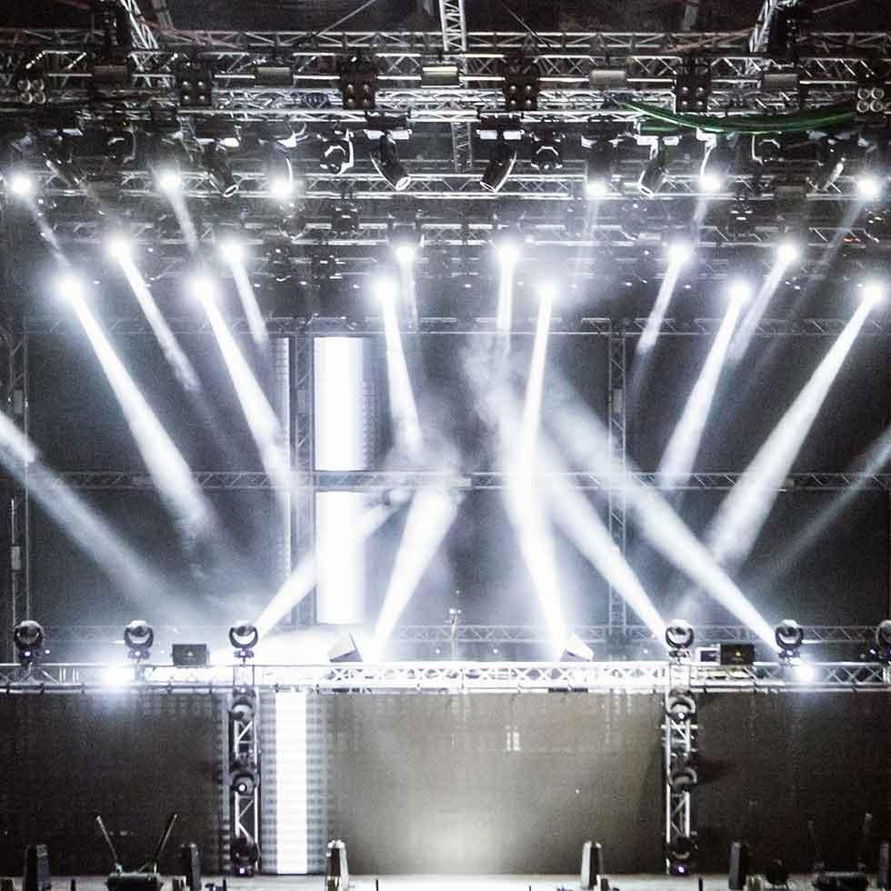 Noleggio palco