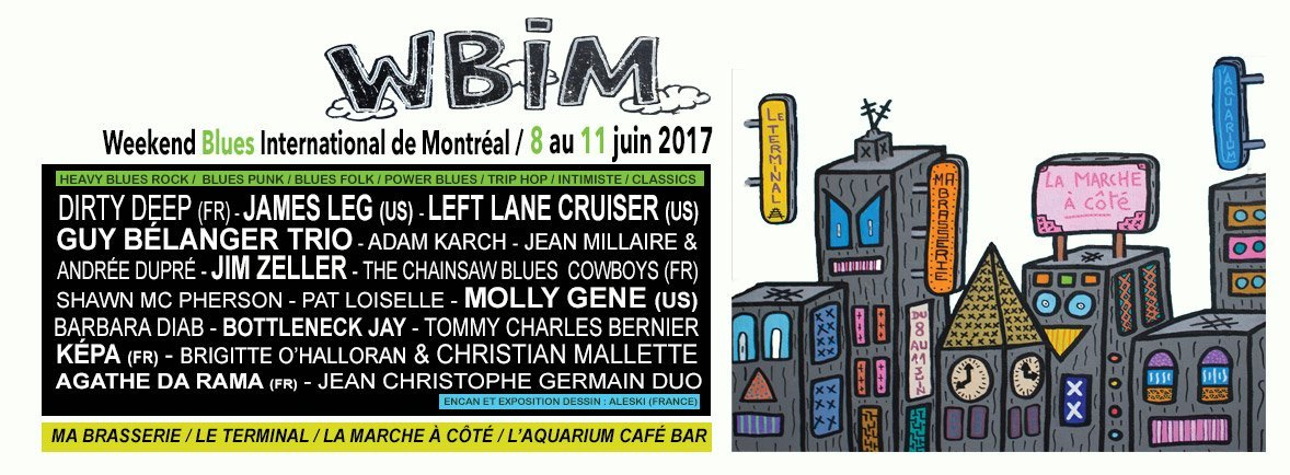 Weekend Blues International Montréal WBIM