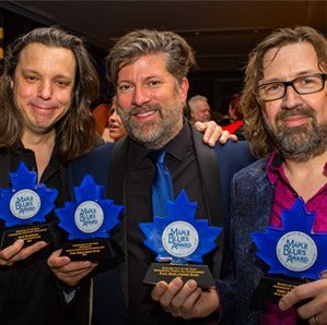 Paul Deslauriers Band Maple Blues Awards