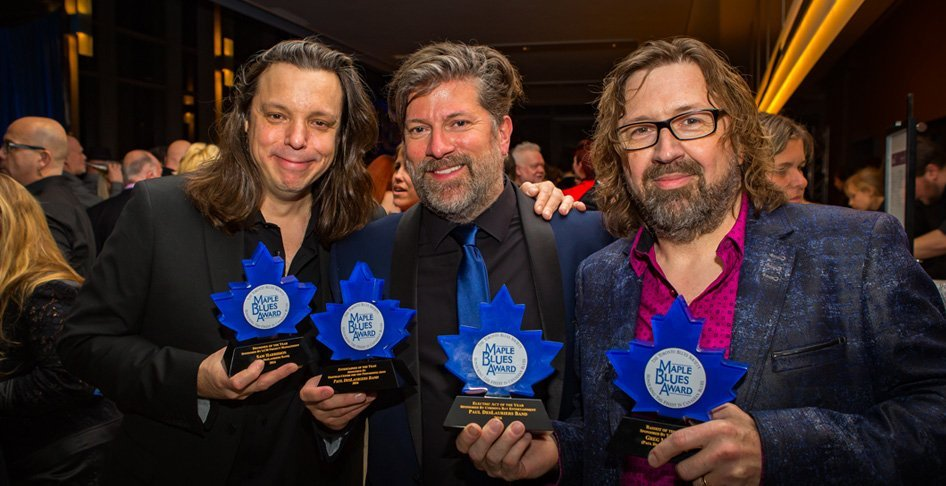Paul Deslauriers Maple Blues Award
