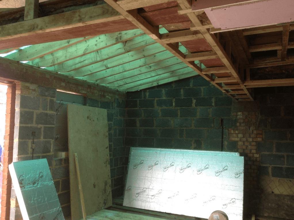 extension in progress