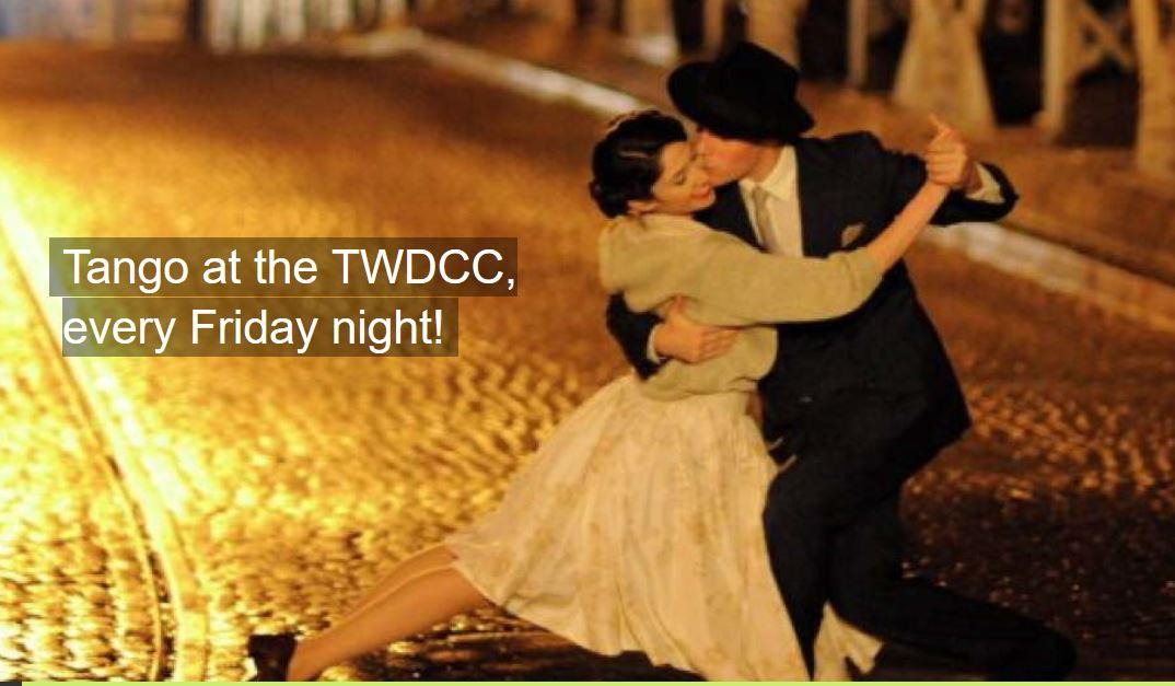 Tango every Friday night in Santa Cruz