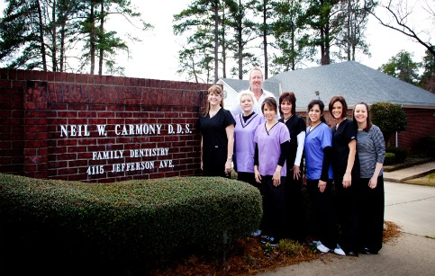 group picture of Neil W. Carmony DDS