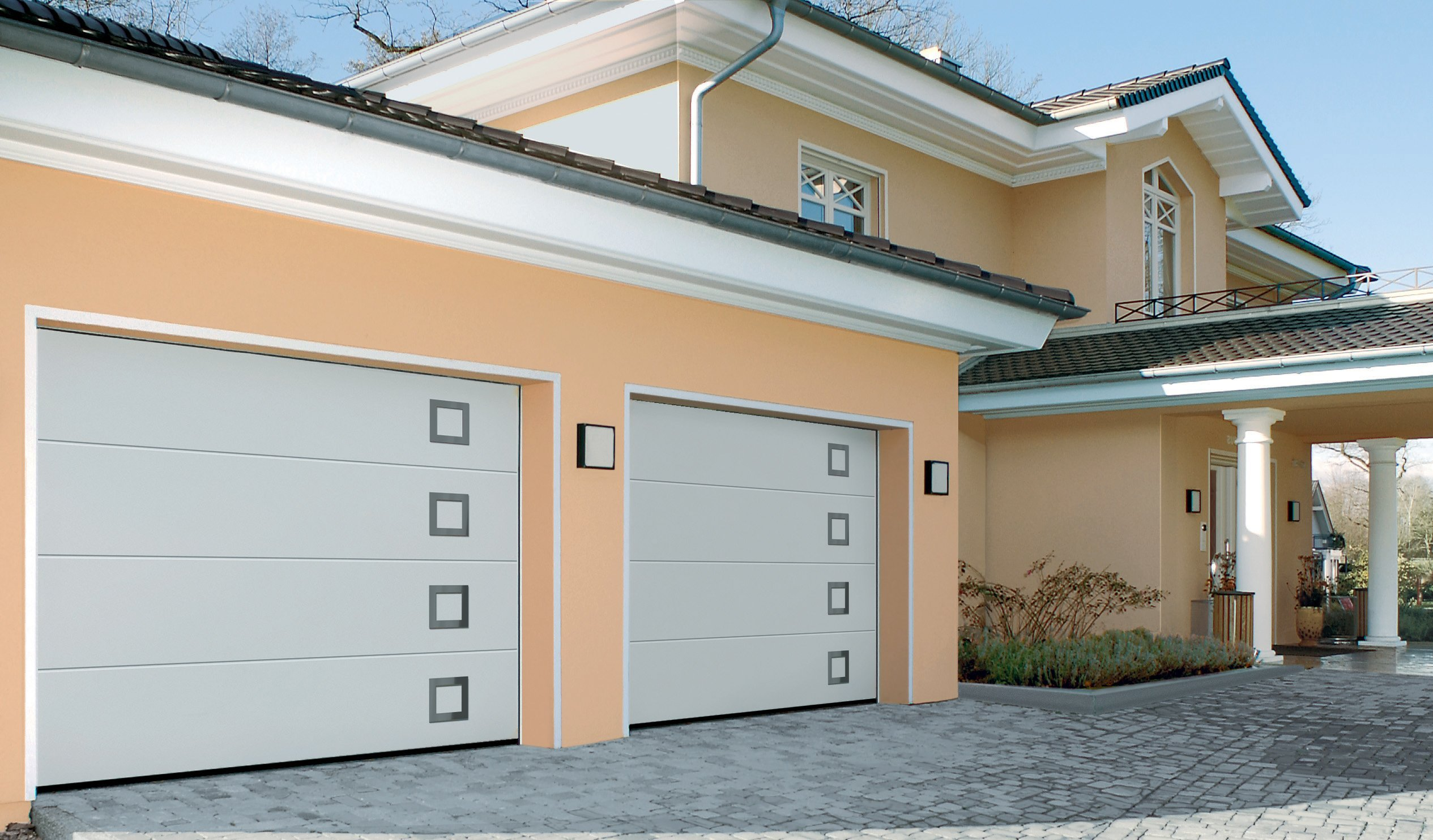 Automatic Sectional Garage door Swansea, Llanelli, Bridgend, Port Talbot, Newport, Cardiff, Cowbridge, the Vale of Glamorgan, Carmarthen and Pembrokeshire