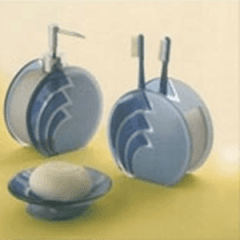 oggettistica per il bagno in alluminio