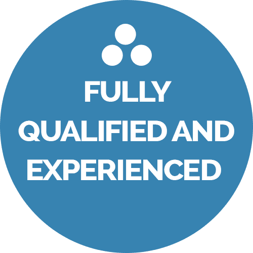 fully qualified and experienced