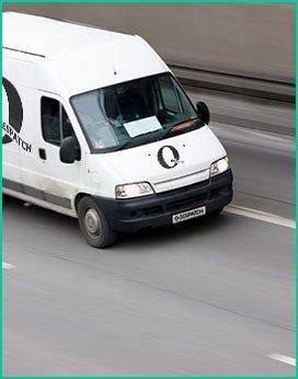 Q Despatch courier van