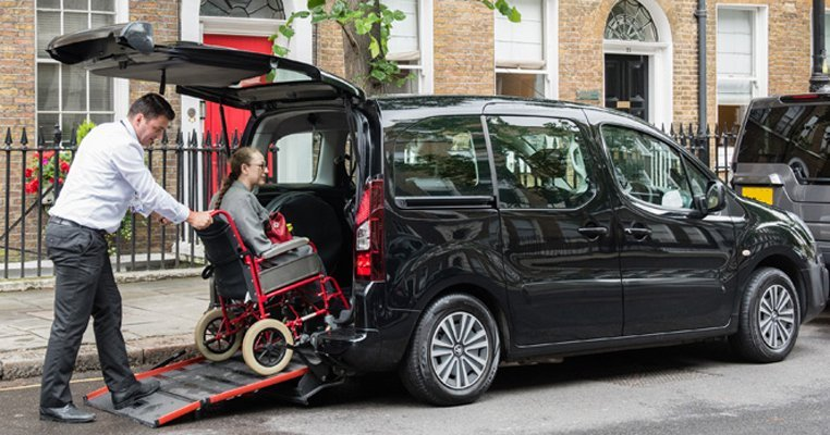 Wheelchair accessible vehicle
