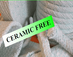 Bergamo ceramic free fibres for technical coatings