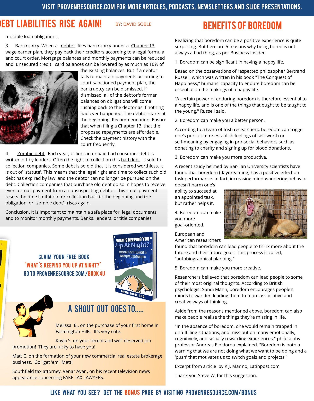 Proven Resource Newsletter Octoberish  3