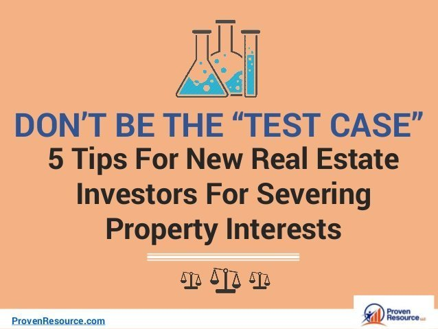 5 Tips For New Real Estate Investors