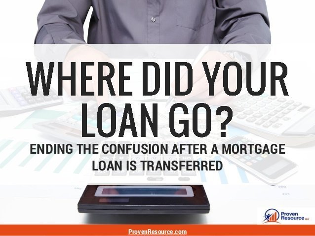 Where Did Your Mortgage Loan Go?