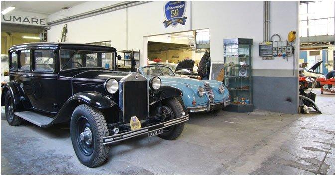 riparazione veicoli storici
