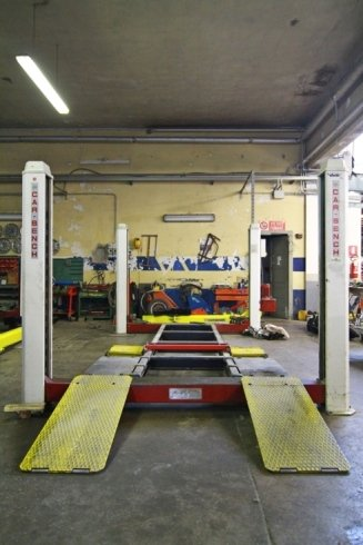 car bench frontale