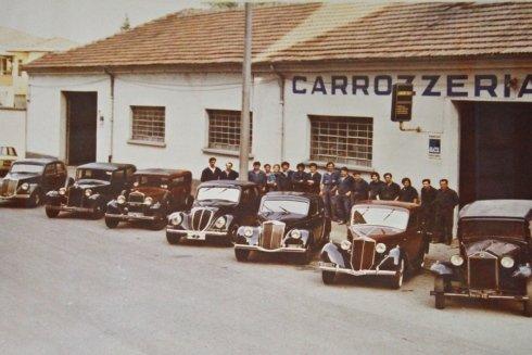 foto d'epoca carrozzeria