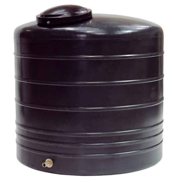 Large non potable water tank