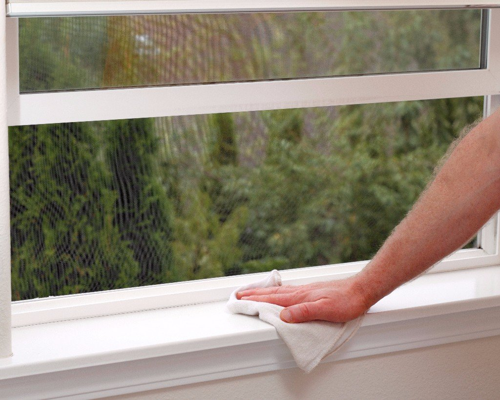 Sick Of Dirty Window Sills Clean Them Up