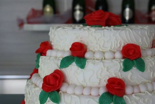 Torta nuziale a Salerno