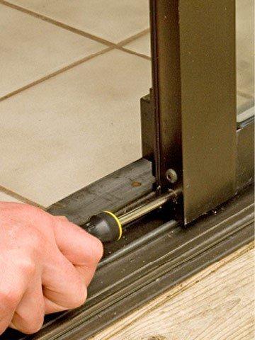 repairing base of door