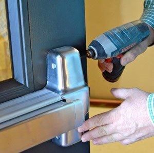 repairing door bar