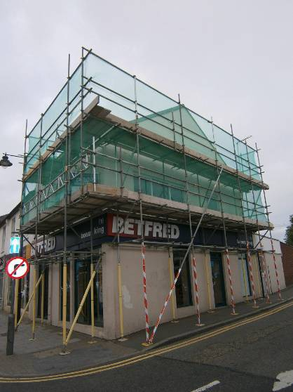Temporary roofing