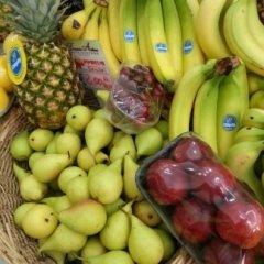 ananas, pere, banane,