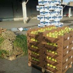 mele, cipolle, zucchine,