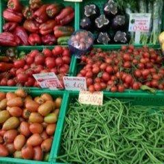 peperoni, fagiolini, pomodori,