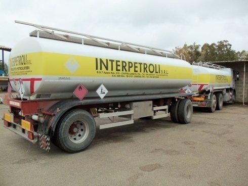 trasporto carburante liquido