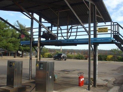 stazione carico camion