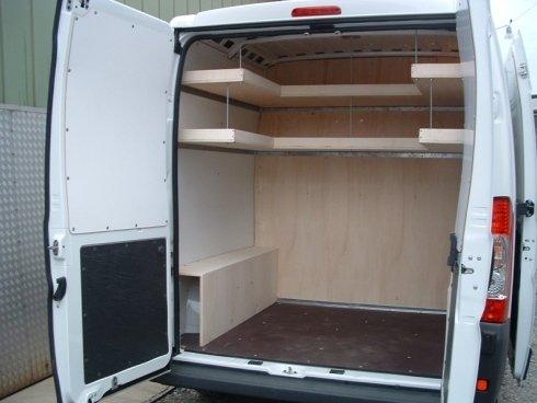 allestimento interno furgone