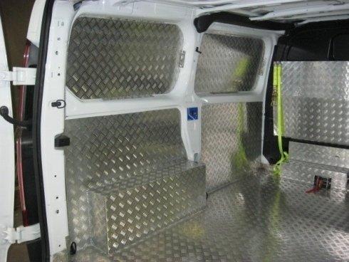 rivestimenti interni camioncino