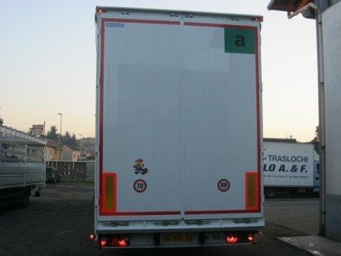 Riparazione cassoni camion