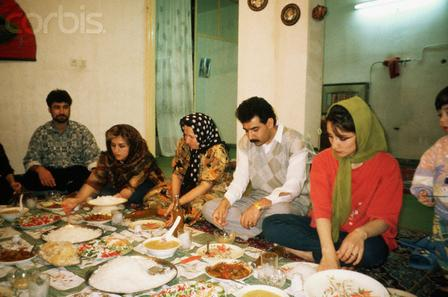 iran family visit, iran eating culture, iran guest culture